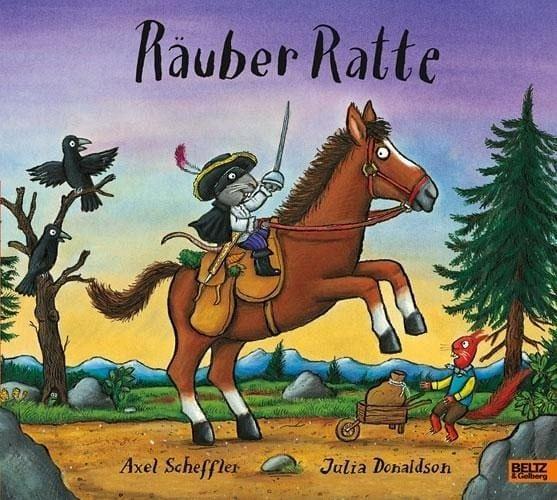 Scheffler, Axel/Donaldson, Julia – Räuber Ratte
