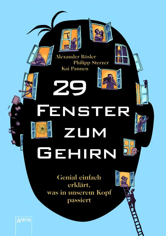 Sterzer, Philipp/Rösler, Alexander – 29 Fenster zum Gehirn