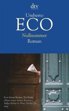 Eco, Umberto – Nullnummer