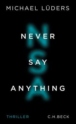 Never Say Anything Book Cover