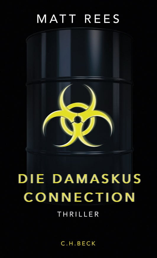 Die Damaskus Connection Book Cover