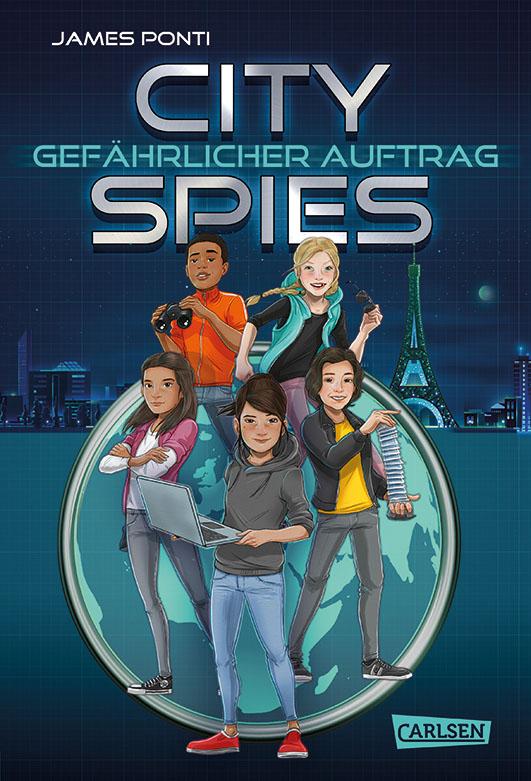 Ponti, James – City Spies