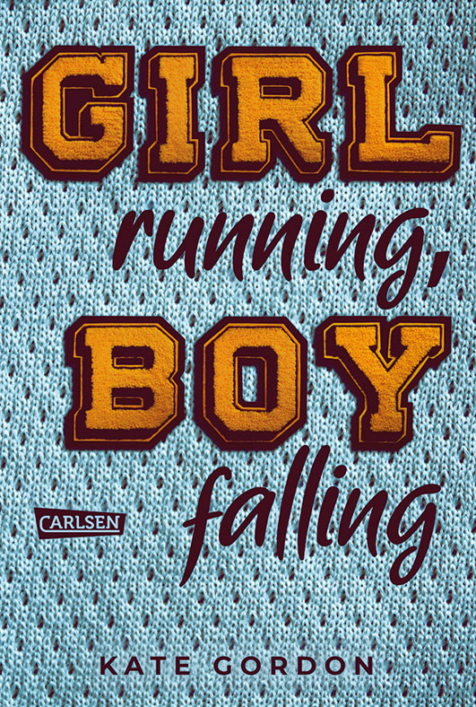 Gordon, Kate – Girl running, boy falling