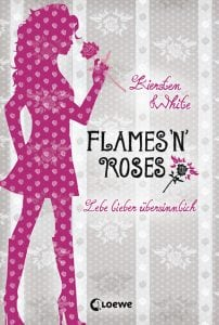 Kiersten White - Flames n roses