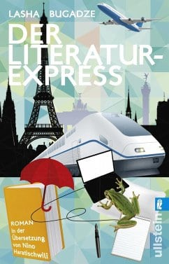 Bugadze, Lasha – Der Literaturexpress