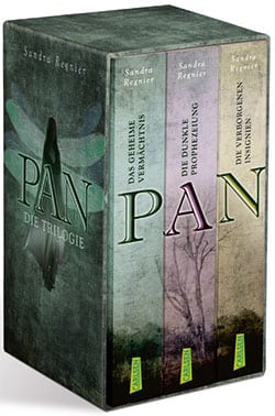 Regnier, Sandra – Die Pan-Triologie