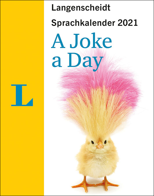 Langenscheidt – Sprachkalender 2021 A Joke A Day