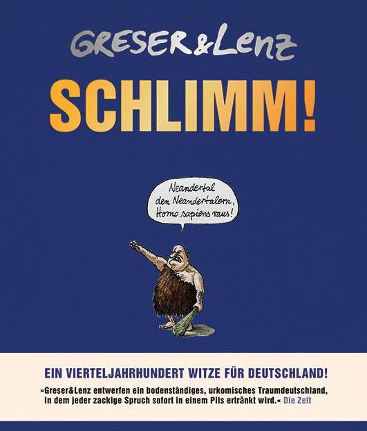Greser, Achim / Lenz, Heribert – Schlimm!
